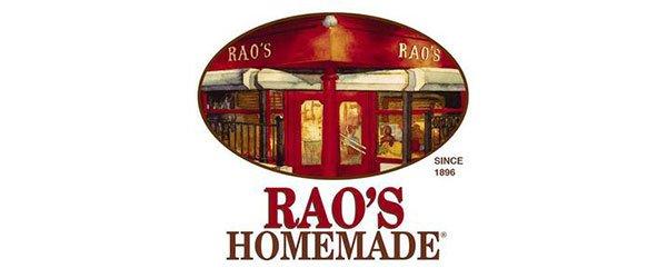 Rao's homemade logo